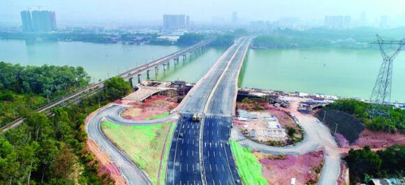 4条市政通道贯通惠城仲恺 两地实现同城化