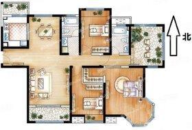 高新区3室2厅2卫156.0平米182.00万元