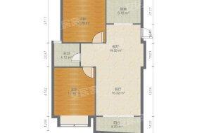 急售洋房蓝海现代城两室两厅一卫南北通透临凯运天地名都华庭