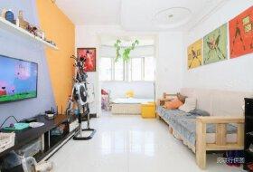 周山建设路上海市场中侨绿城中层两室南北通透实心卖房